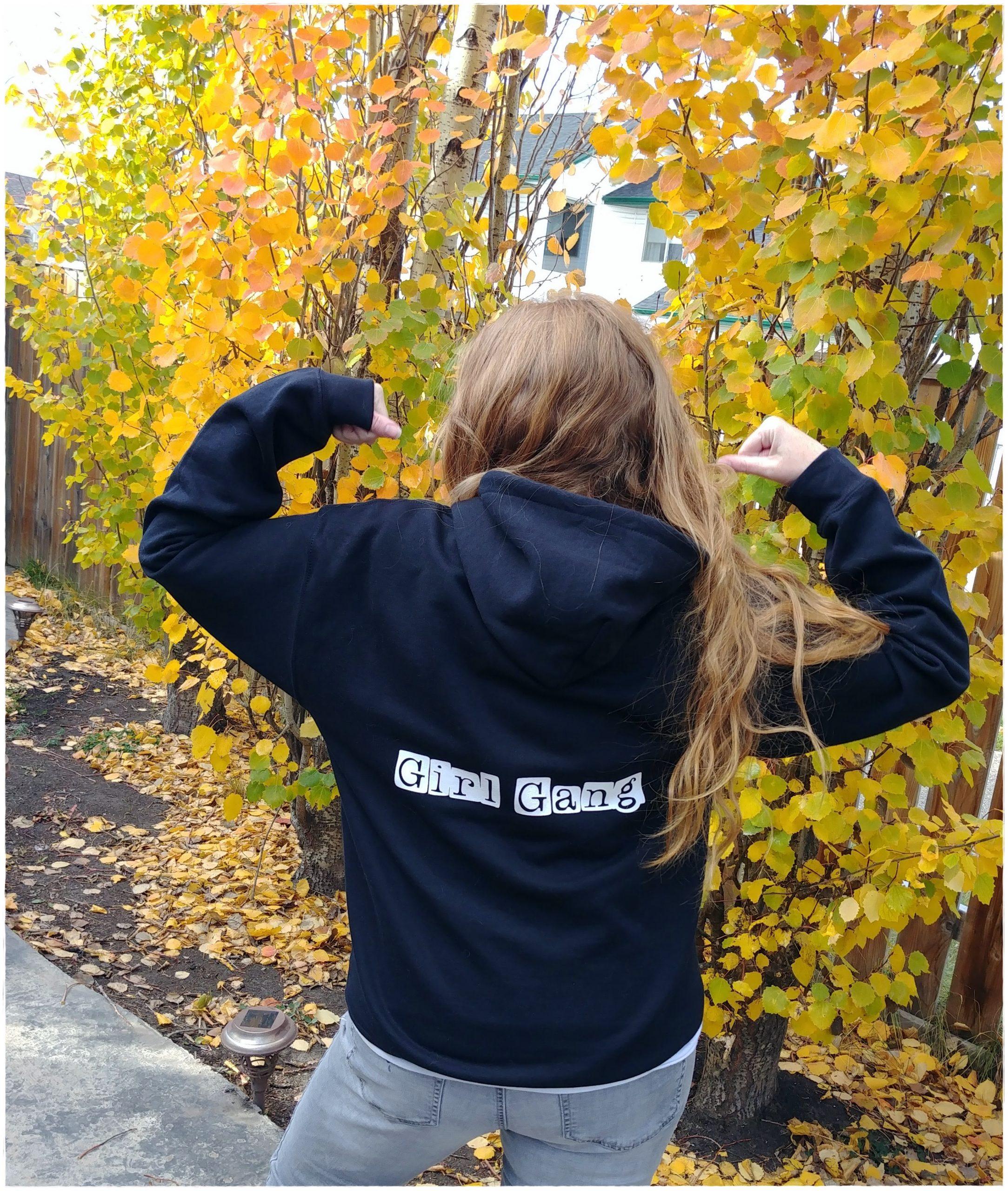 girl gang hoodie 2020